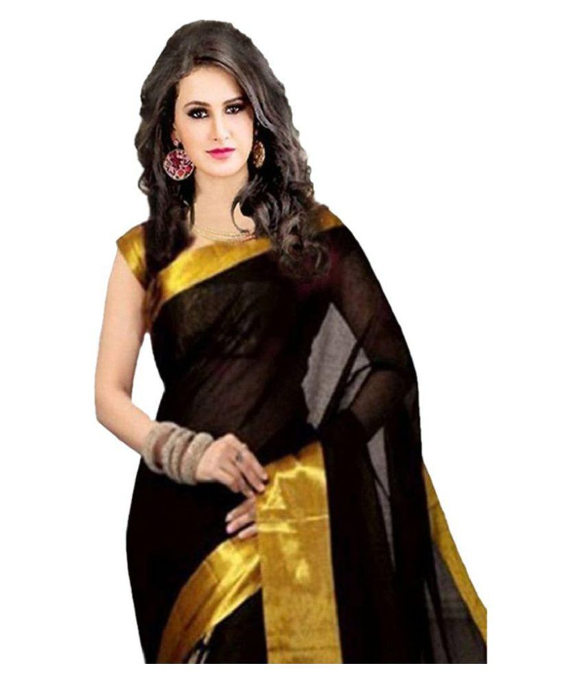 wama fashion black tussar silk saree buy wama fashion black wama fashion black tussar silk saree wama fashion black tussar silk saree