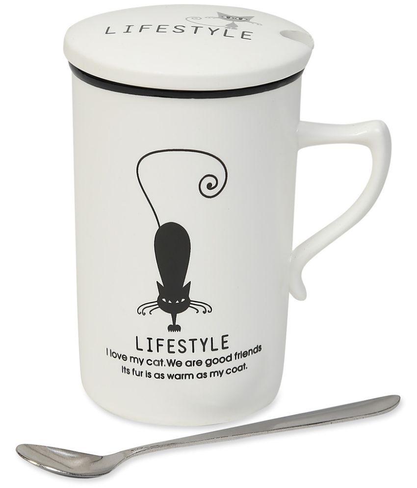 Cosmosgalaxy Ceramic Coffee Mug 1 Pcs 300 ml