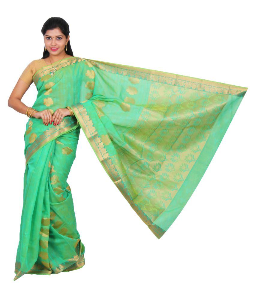 389d5ae2ef The Chennai Silks - Silk Cotton Saree - Buy The Chennai Silks - Silk Cotton  Saree Online at Low Price - Snapdeal.com