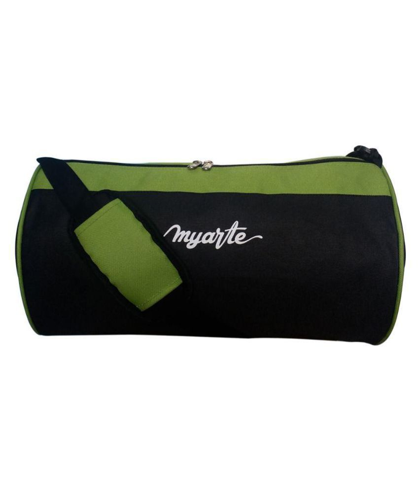 Myarte Black Gym Bag