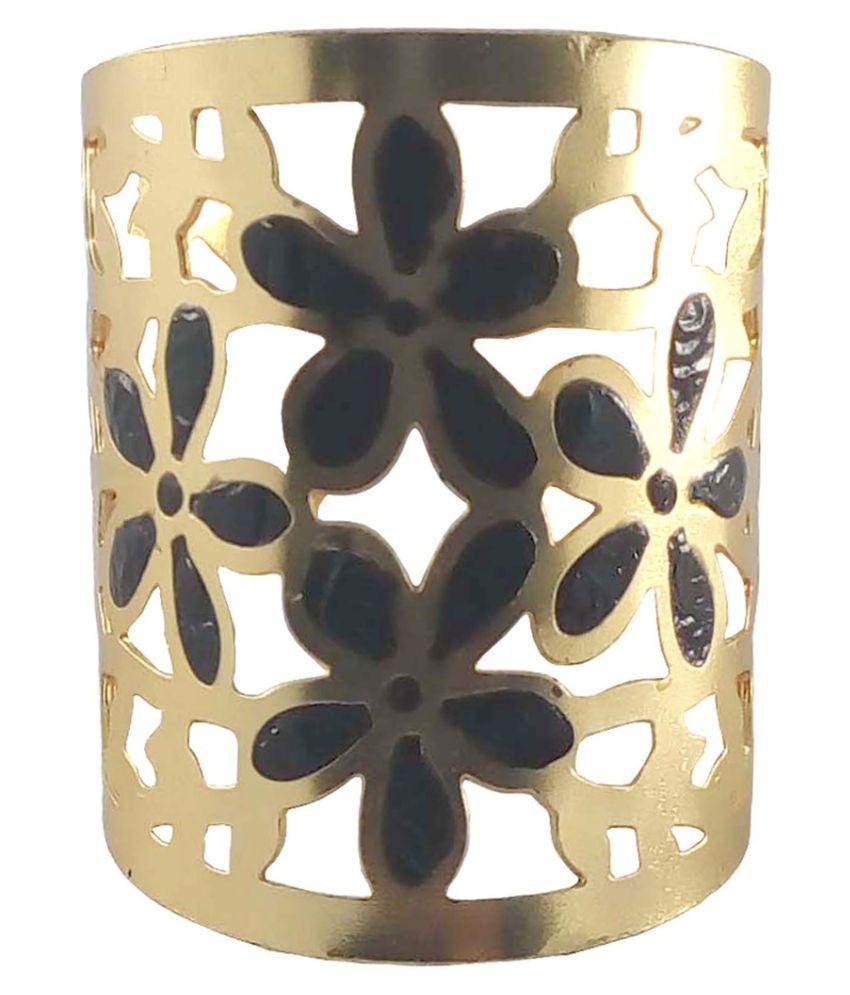 Rejewel Golden American Diamond Ring