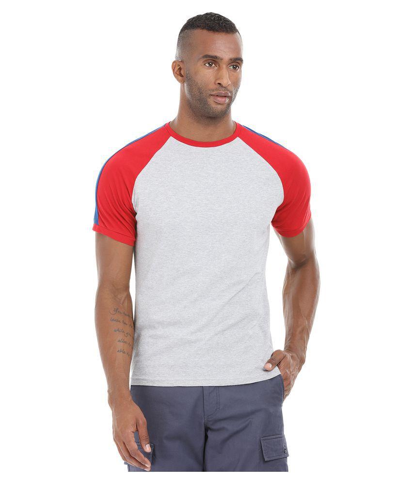 Zobello Grey Round T-Shirt