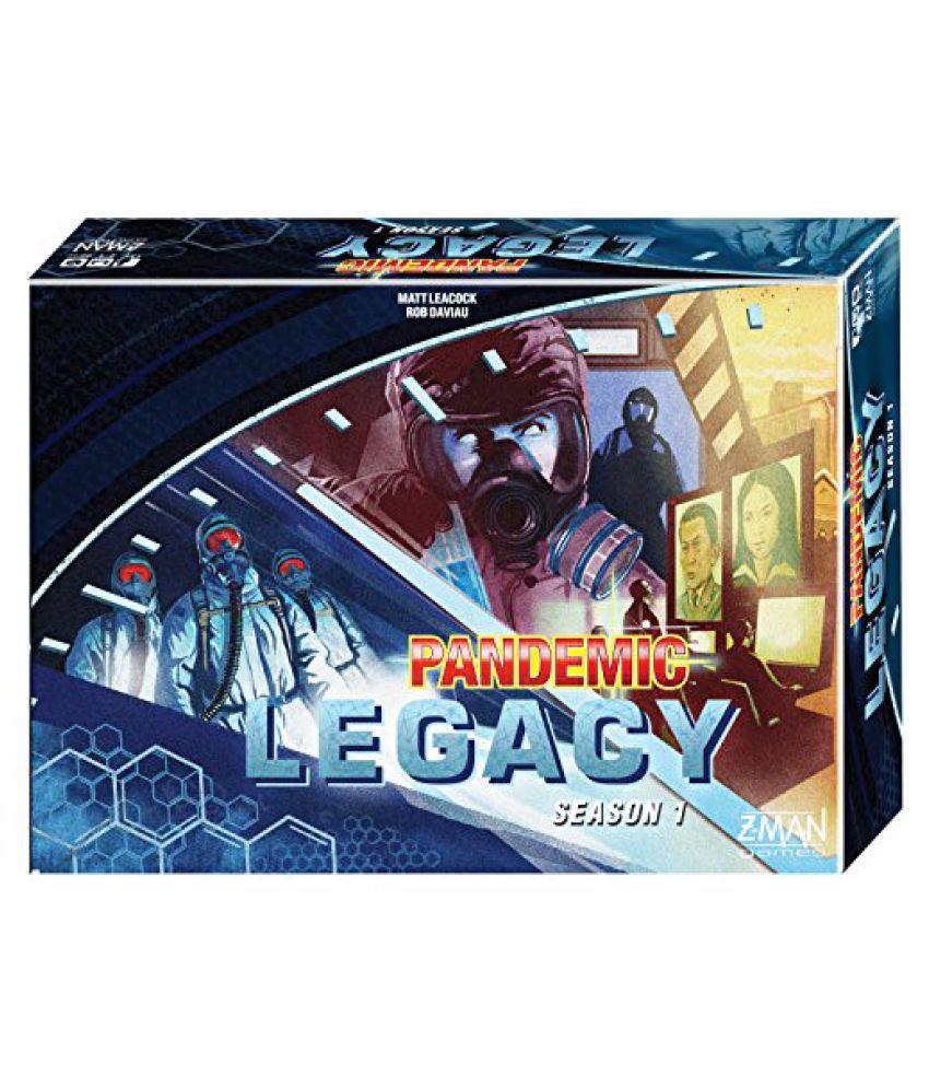 Pandemic Legacy Blue Board Game Buy Pandemic Legacy Blue Board Game Online At Low Price Snapdeal