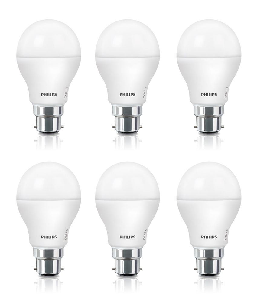 Philips 9w Pack Of 6 Led Bulbs Buy Philips 9w Pack Of 6