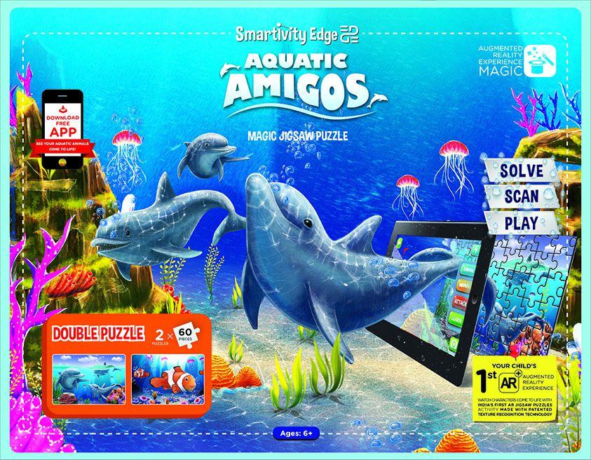 Smartivity Black Aquatic Amigos Puzzle - Buy Smartivity