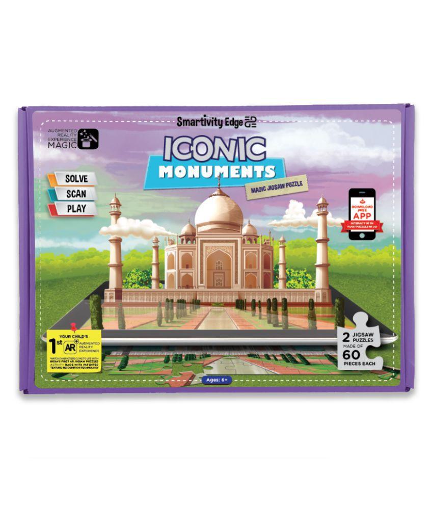 Smartivity Edge Iconic Monuments Magic Jigsaw Puzzle - Buy