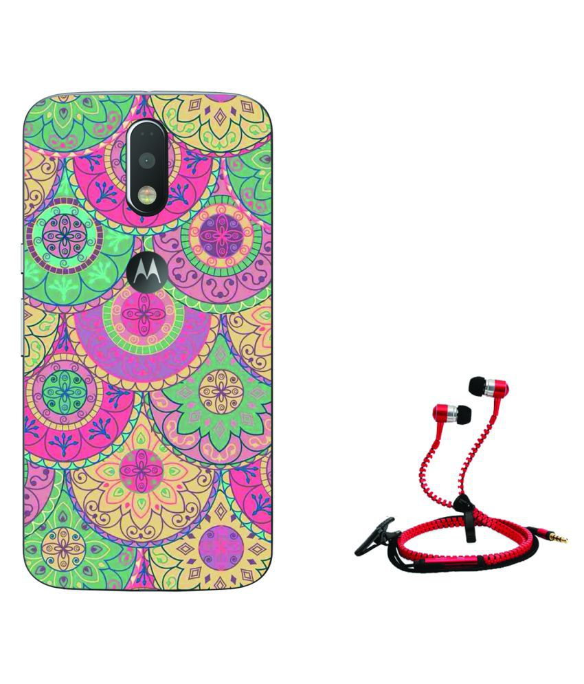 Moto G4 Plus Printed Cover By Style Crome