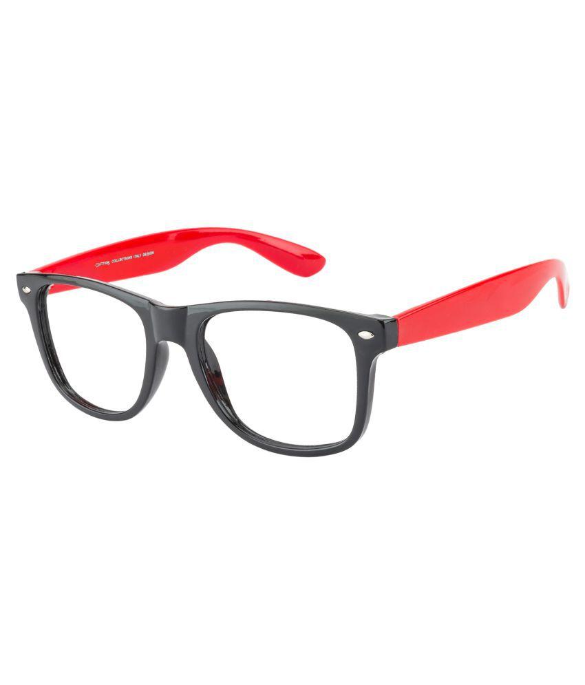 Glitters Clear Square Sunglasses ( OS8020C1-5 )