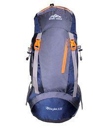 Mount Track 45-60 litre Blue Hiking Bag