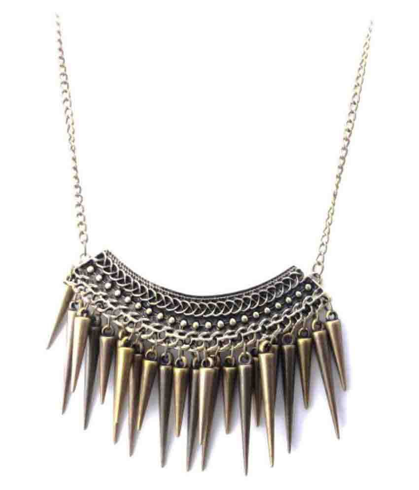 Eleganzza Golden Necklace
