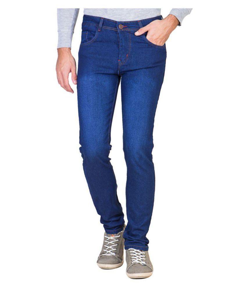 Eprilla Dark Blue Relaxed Jeans