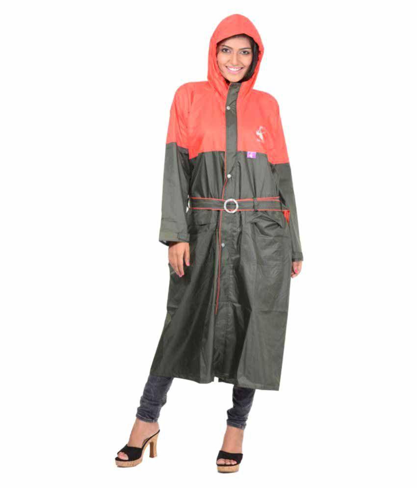 Allwin Industries Polyester Long Raincoat
