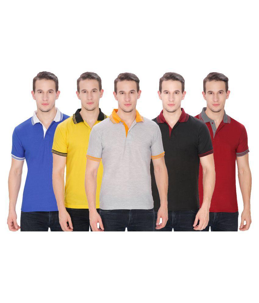 Baremoda Multi Regular Fit Polo T Shirt