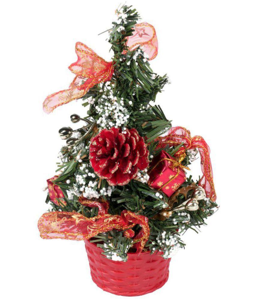 Buy Christmas Tree India: Itiha PVC Christmas Tree Multicolour: Buy Itiha PVC