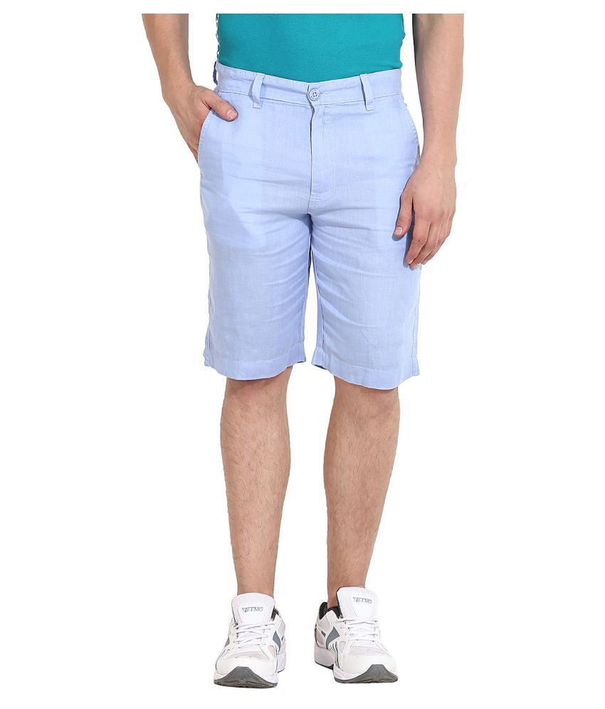 Wear Your Mind Blue Shorts
