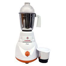 Singer Polo Mixer Grinder White And Safron