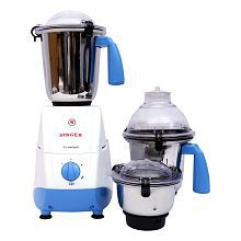 Singer Crusty Plus Mixer Grinder White & Blue