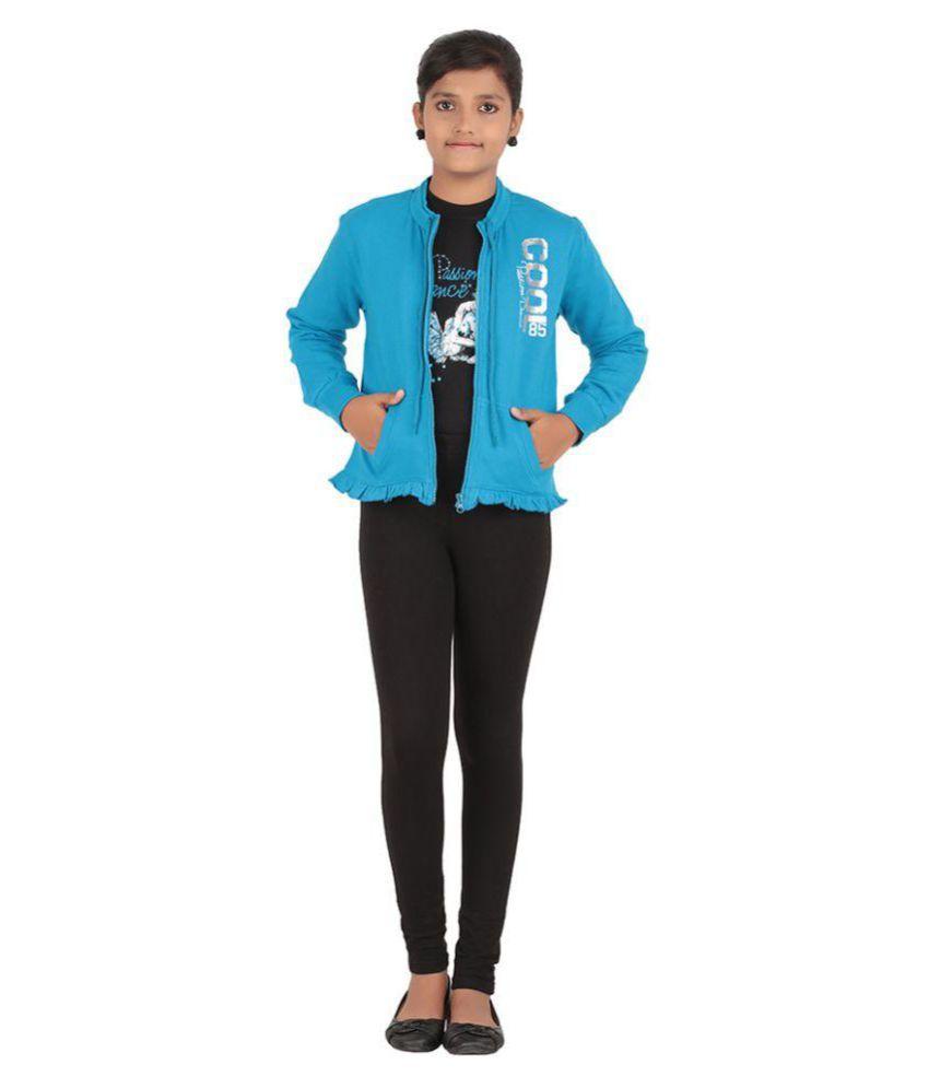 G&P Team Blue Cotton Sweat Shirt