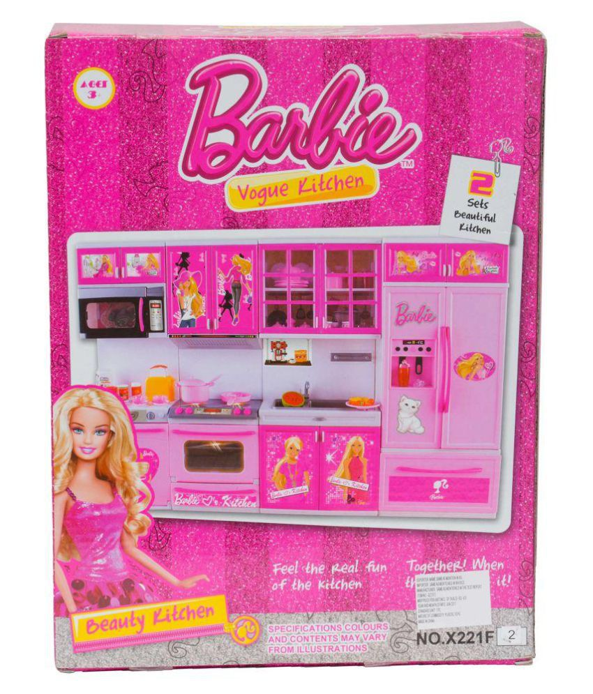 Barbie kitchen set the image kid has it for Kitchen set cicilan 0