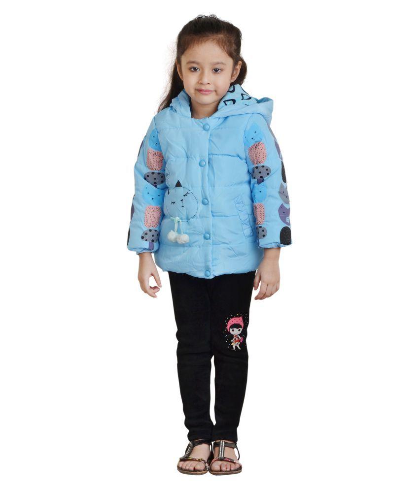 Qeboo Blue Nylon Jacket