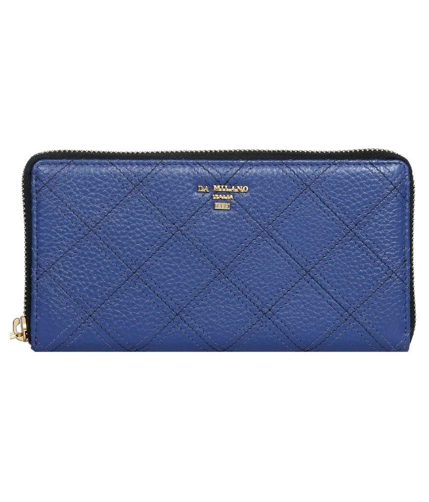 Da Milano Blue Wallet