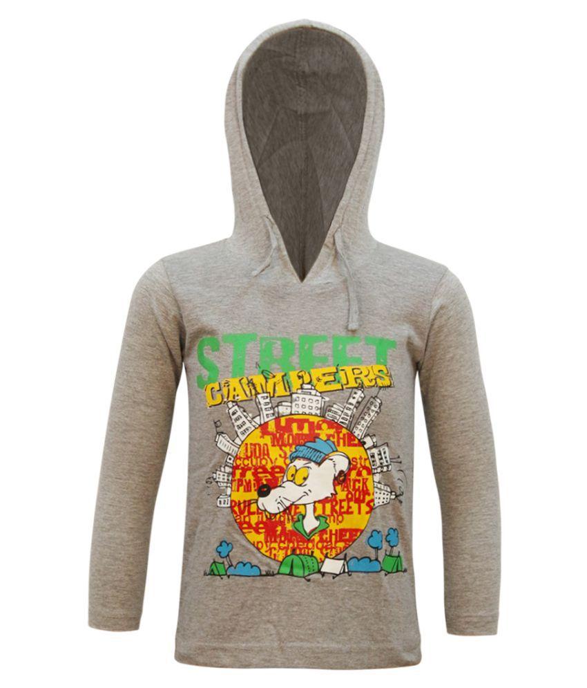 Kothari Grey Cotton Sweatshirt