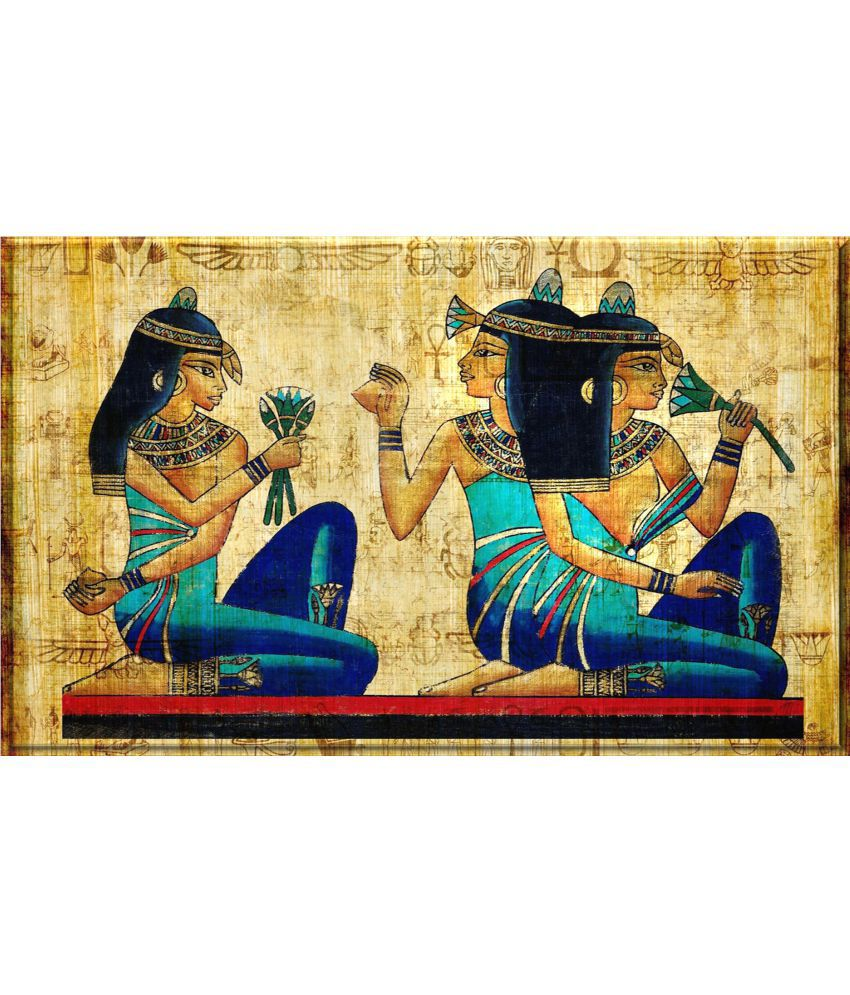 Craftsfest Egyptian historical paintings Canvas Painting Without Frame Single Piece
