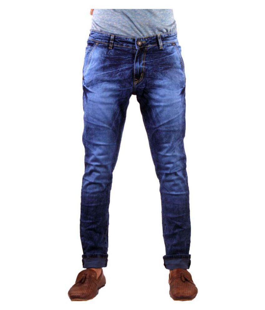 Mad & Min Blue Slim Jeans