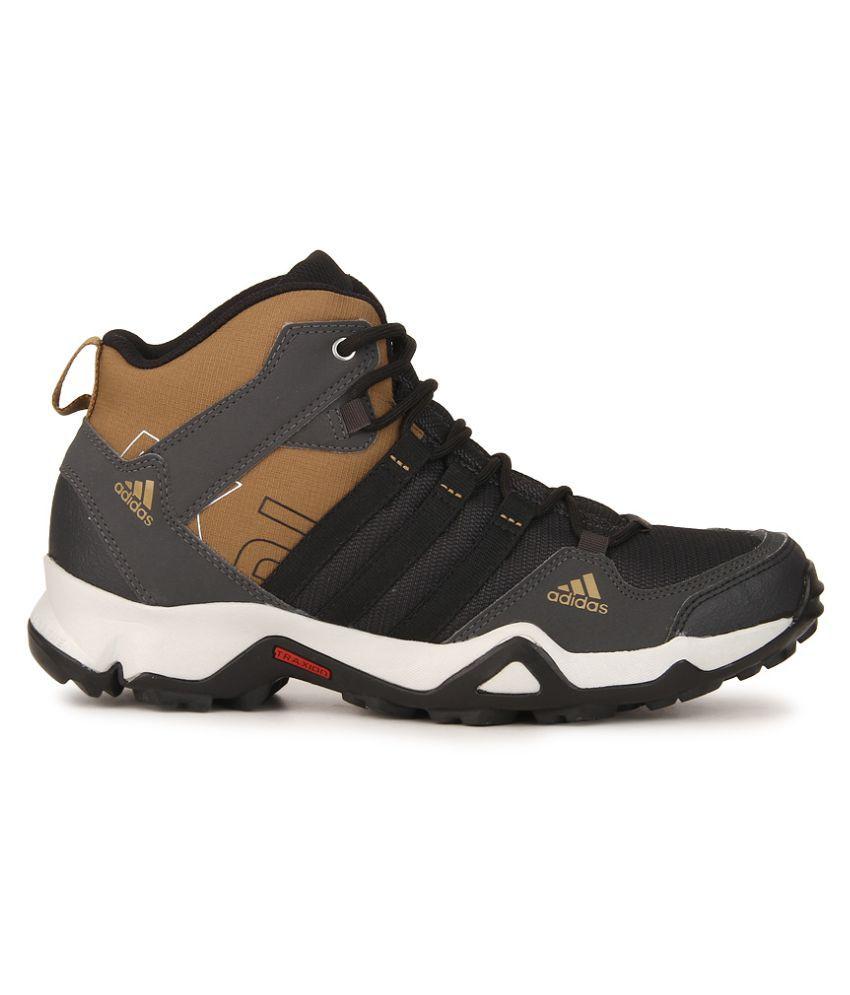 14547f8839c050 Adidas AX2 MID Black Hiking Shoes - Buy Adidas AX2 MID Black Hiking ...