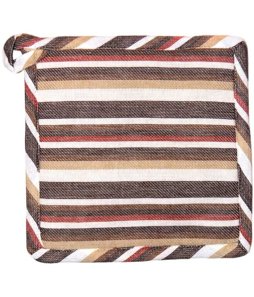Chromatic Collections Multicolor Square Cotton Pot Holder