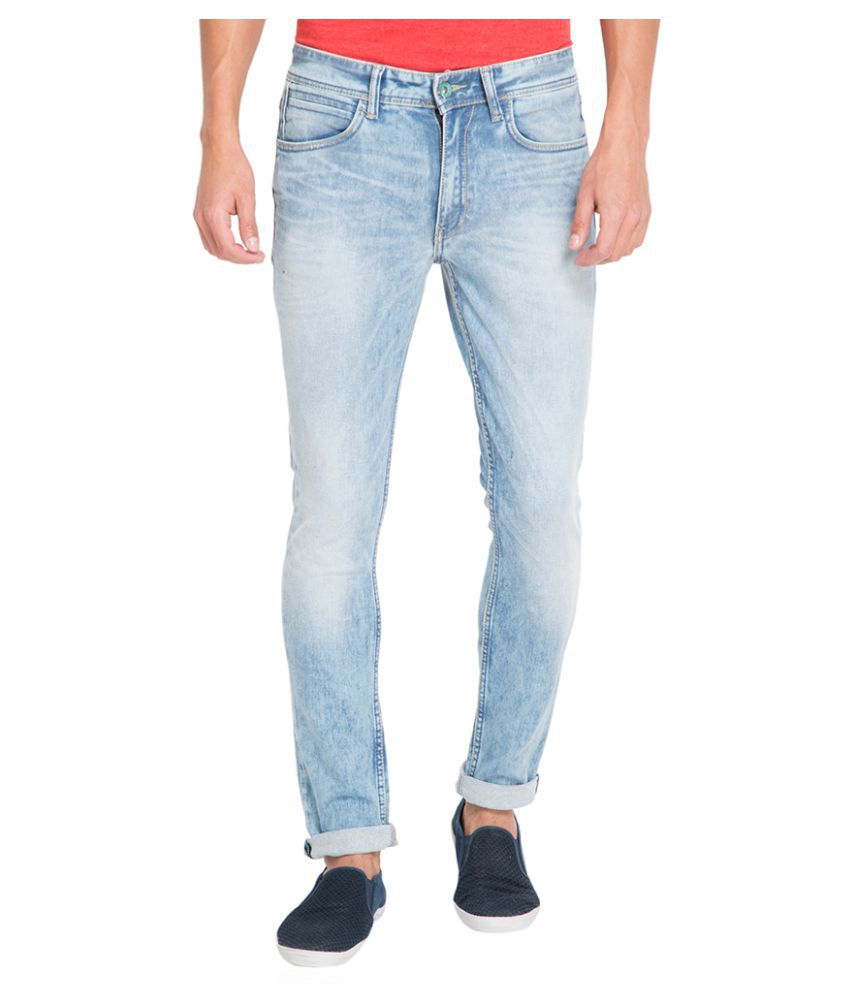 Locomotive Light Blue Slim Jeans