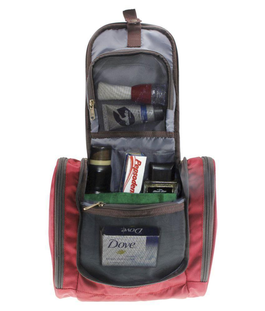 Swiss Military Red Toiletry Bag/ Travel Kit