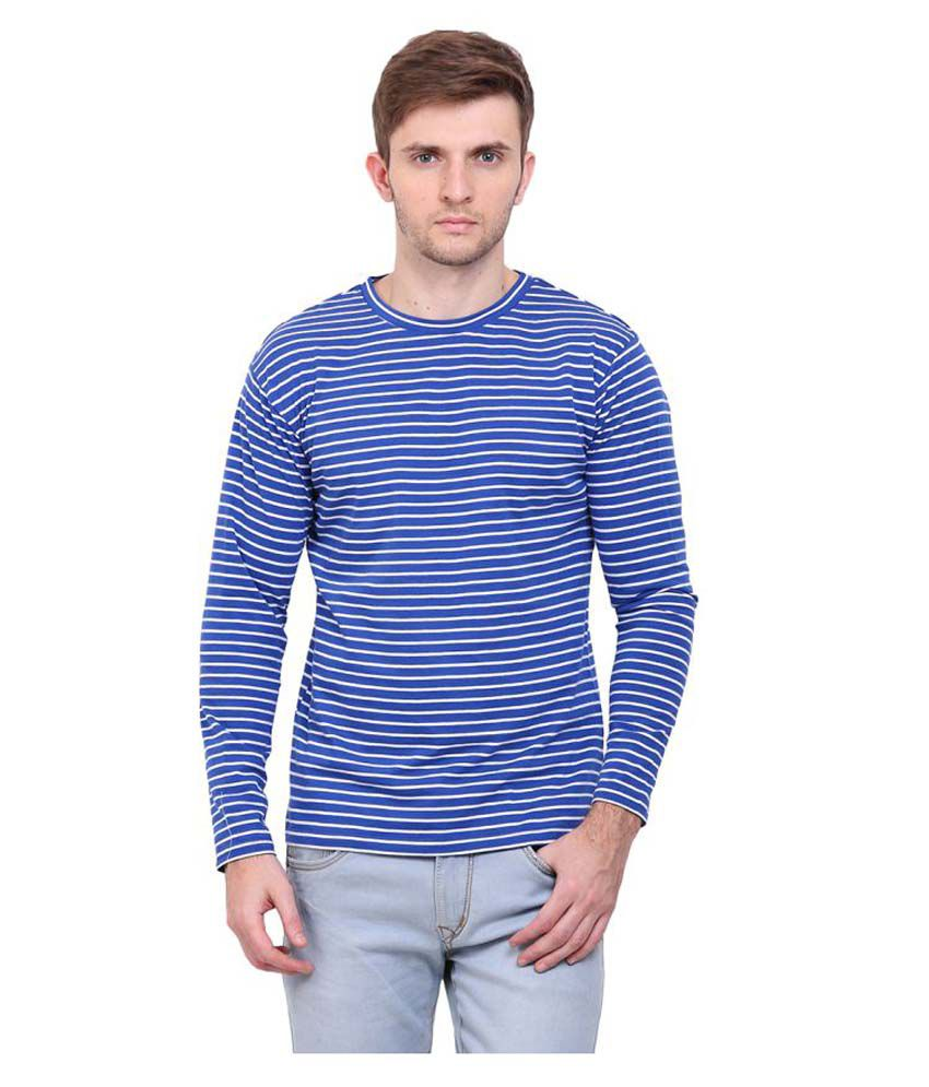 Le Bourgeois Blue Round T-Shirt
