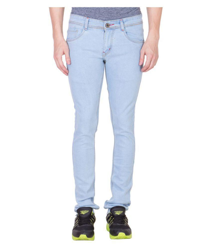 maxxone Light Blue Slim Jeans