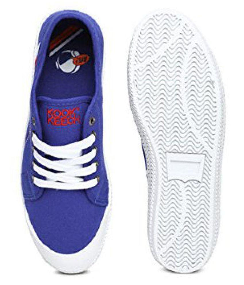 14ecf99bf Kook N Keech Sneakers Blue Casual Shoes - Buy Kook N Keech Sneakers ...