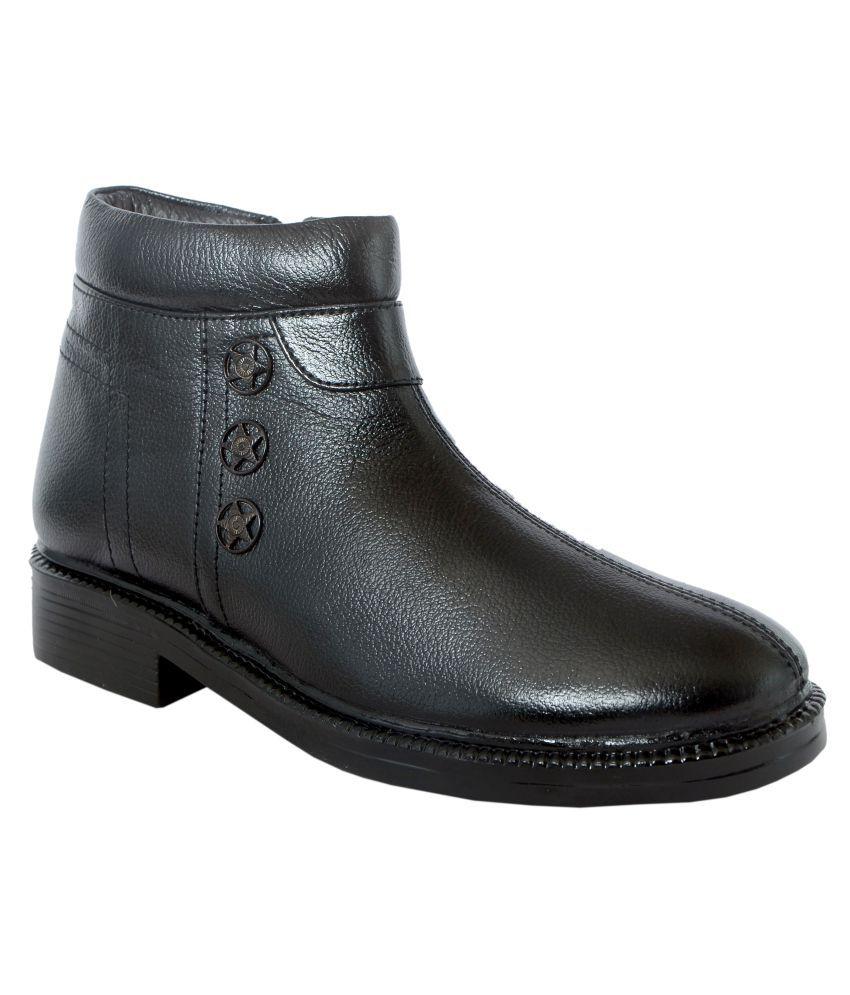 Shoebook Black Formal Boot