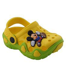 Pollo Yellow Clogs for Kids