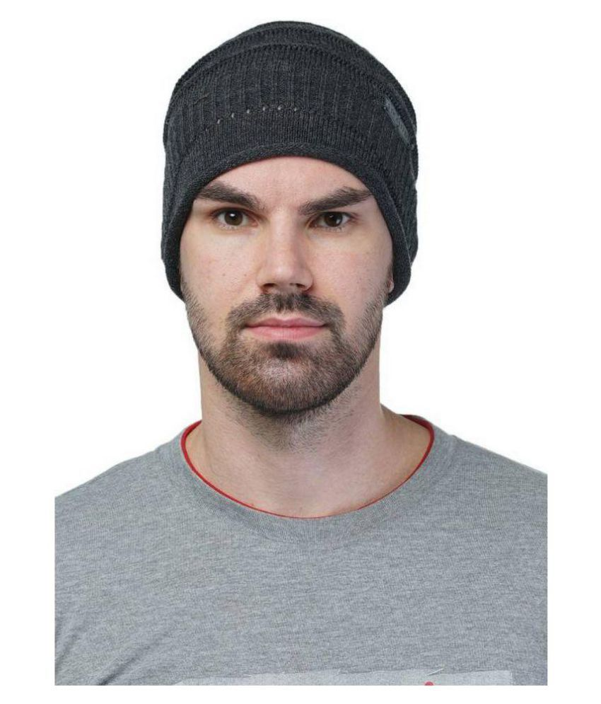 99dailydeals Black Knitted Wool Caps