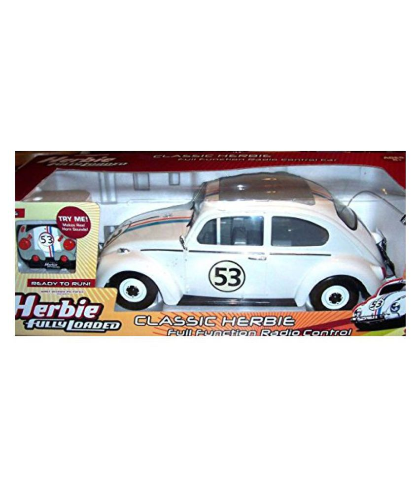 disneys herbie the love bug fully loaded vw volkswagen bug remote rh snapdeal com