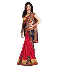 SareeShop Designer SareeS Multicoloured Chiffon Saree