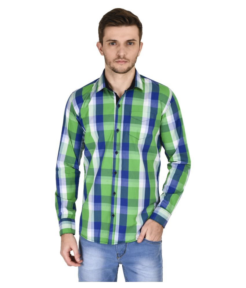 KayaDeals Multi Casuals Slim Fit Shirt