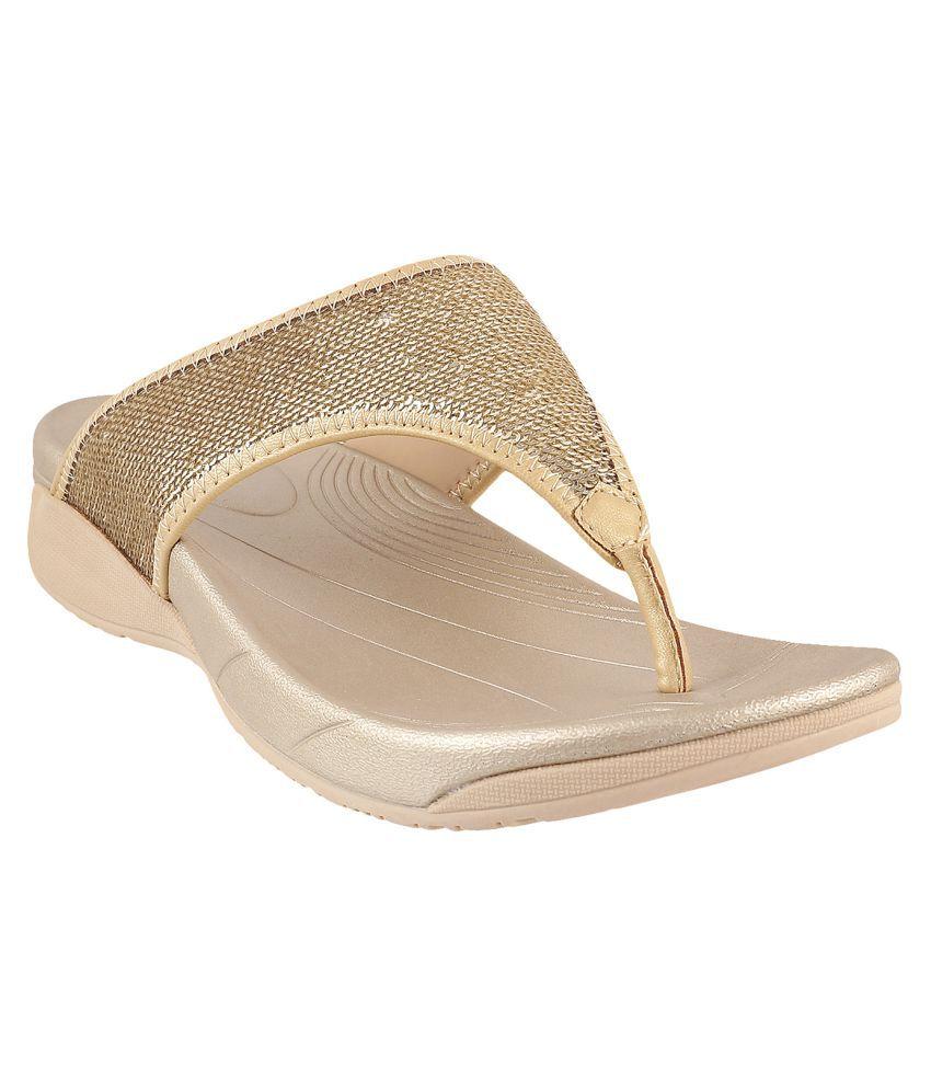 METRO GOLD Slippers