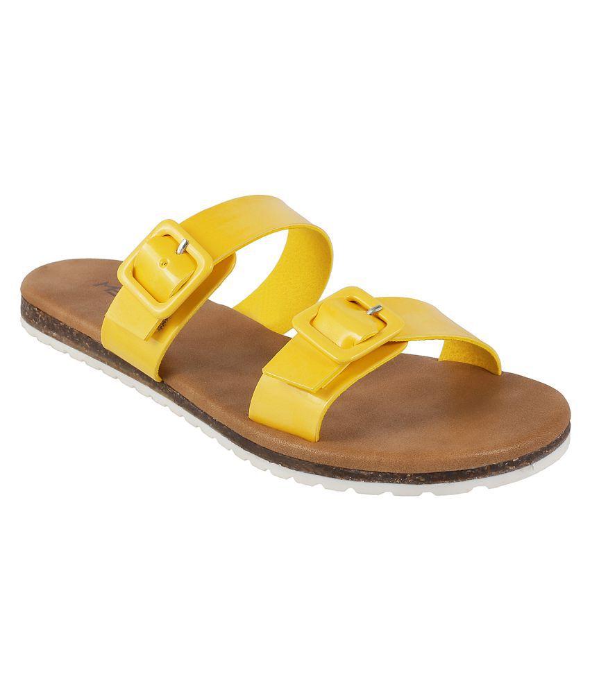 METRO YELLOW Slippers