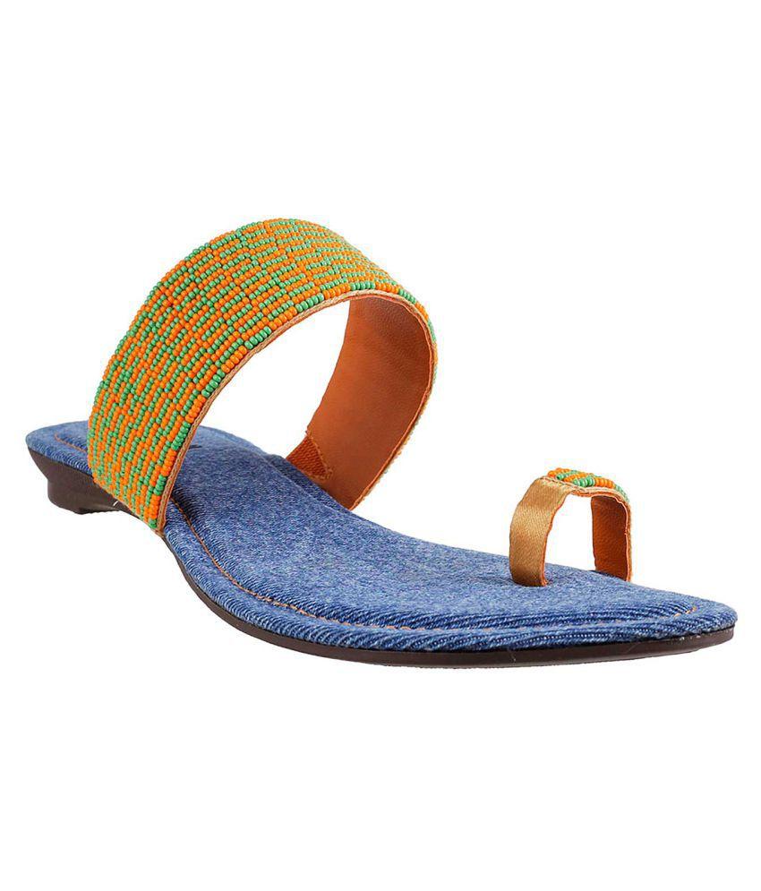 MOCHI ORANGE Slippers
