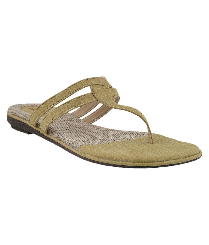 MOCHI YELLOW Slippers