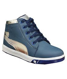 Pollo Blue Sneakers