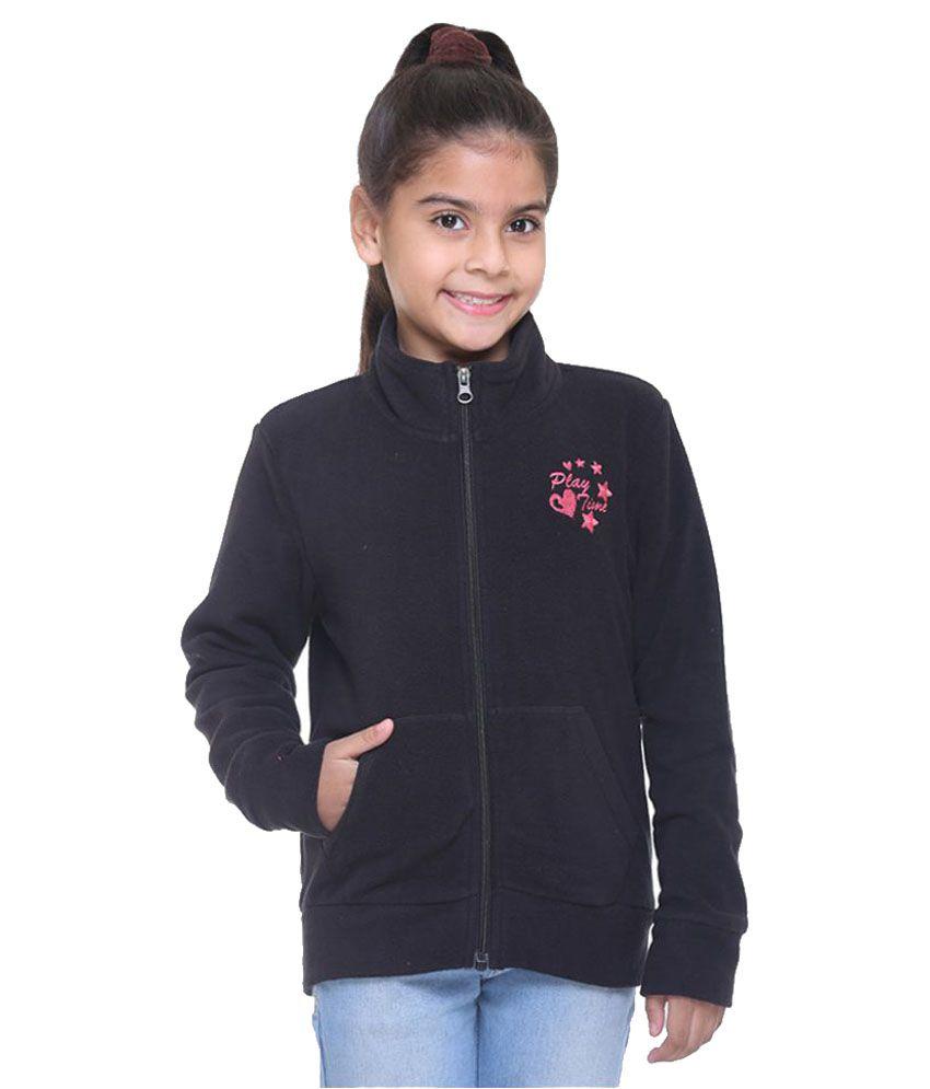Kids-17 Black Fleece Sweatshirt