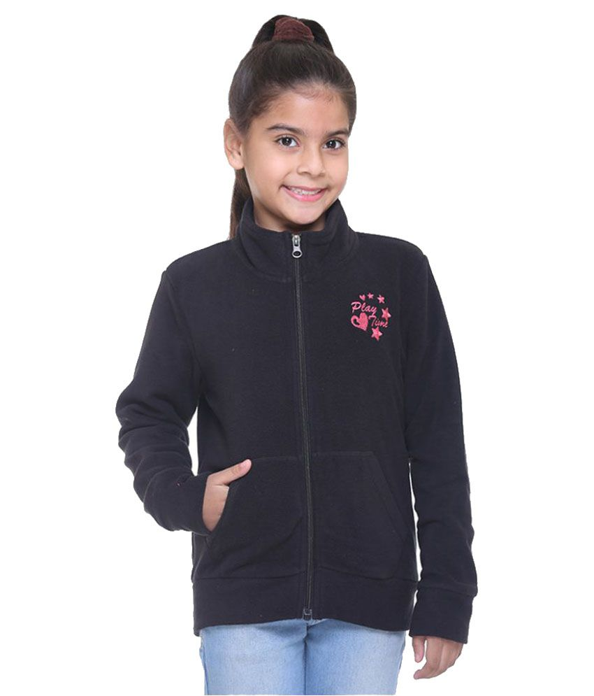 Kids-17 Black Fleece Sweatshirt