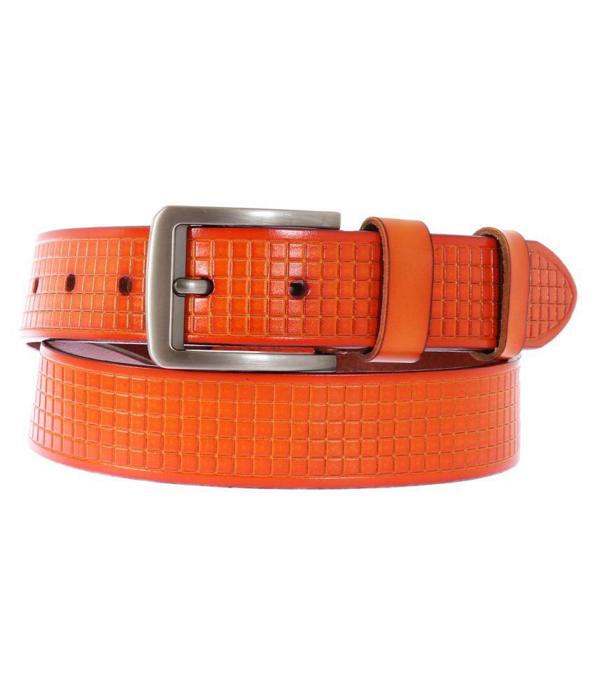 Schmick Tan Leather Casual Belts