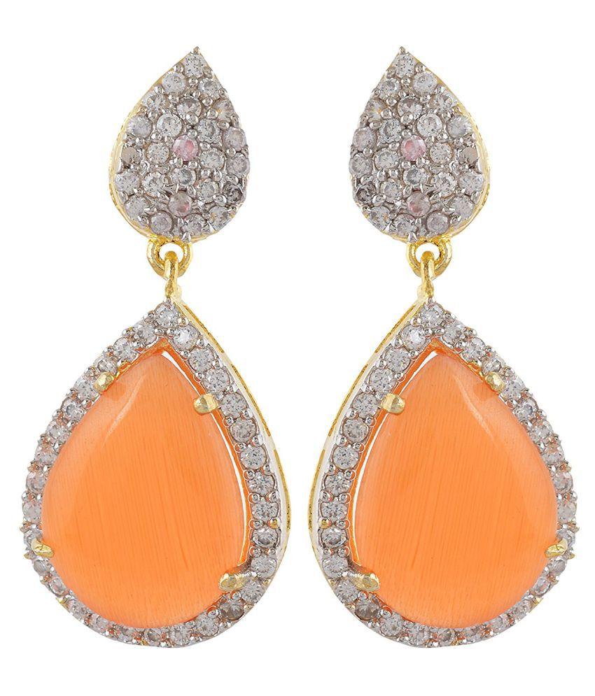 DLS Jewellery Multicolour Hanging Earrings